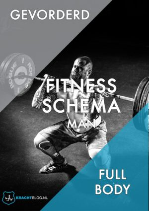 Fitness Schema Man Gevorderd Full Body