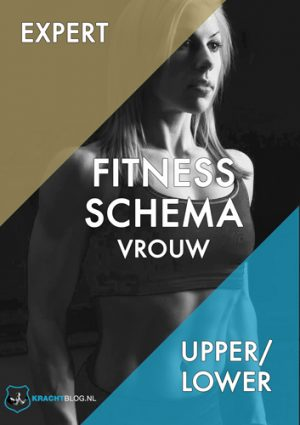 Fitness Schema Vrouw Expert Upper Lower