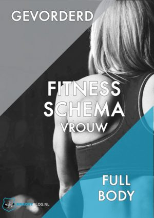 Fitness Schema Vrouw Gevorderd Full Body