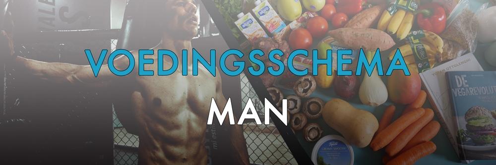 voedingsschema man